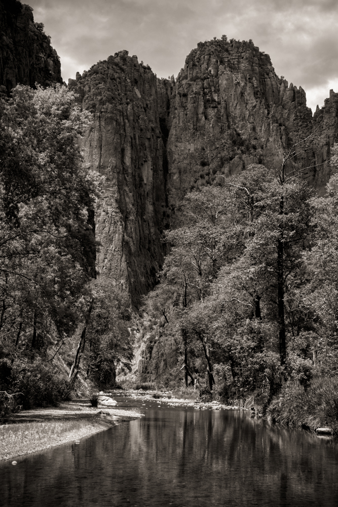 Middle Fork of Gila River, Gila Wilderness.