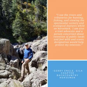 Gerry Engle, Gila Chapter Backcountry Horsemen
