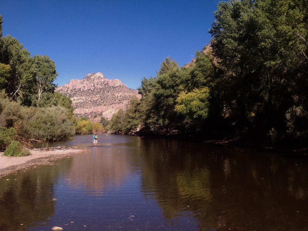 Mogollon Box of the Gila River.