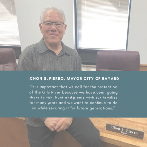 Chon Fierro, Mayor of Bayard, NM